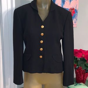 Escada Cropped Fitted Jacket Size 38